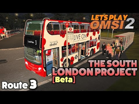 OMSI 2 Lets Play #23   Alexander Dennis Enviro 400   The South London Project [Beta]: Route 3