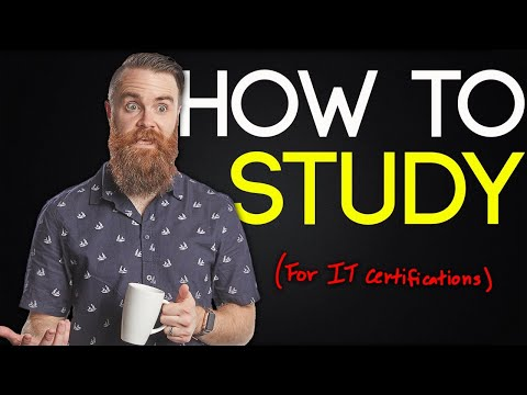 How to Study for IT Certifications (and KILL IT!!)
