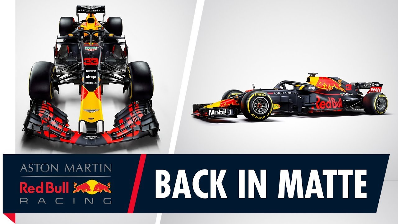 Back In Matte Our Racing Colours For The 2018 F1 Season Youtube