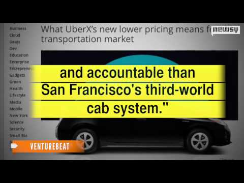 Uber Lowers Ridesharing Prices To Undercut Taxis