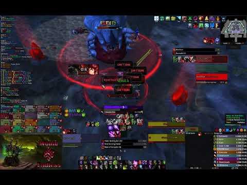 Endless VS G'huun Mythic (Affliction Warlock POV)
