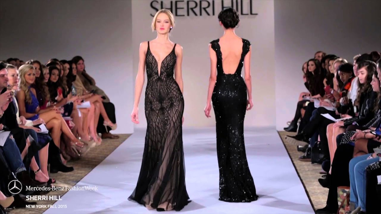 c56071aef9 SHERRI HILL MERCEDES-BENZ FASHION WEEK FW 2015 COLLECTIONS - YouTube