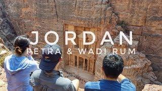PETRA + WADI RUM [JORDAN] - Desert Adventure!