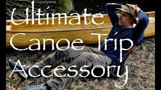 Canoe Trip Kneeling Mat/Sleep Pad/Camp Chair Hack. Weight Saving Tip for Canoe Tripping.