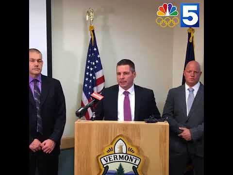 Video: Vermont State Police announce arrest of double homicide suspect