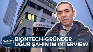 Biontech-Gründer Uğur Şahin im Interview zu seinem Corona-Impfstoff