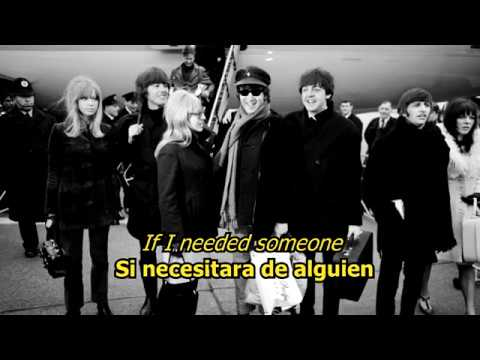Клип The Beatles - If I Needed Someone