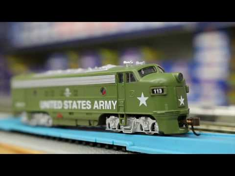 Model Power N Scale #89454 FP-7 US ARMY With DCC With Sound