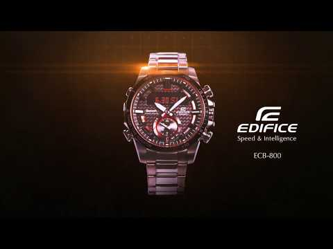 CASIO EDIFICE ECB-800 Promotion Movie
