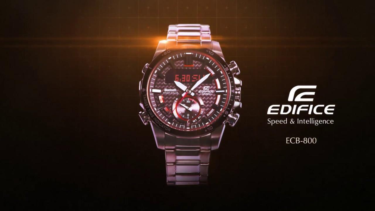 Casio Edifice Ecb 800 Promotion Movie Youtube