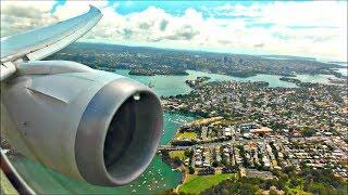 Incredible Scenic Landing Into Sydney - Jetstar Boeing 787-8 Dreamliner