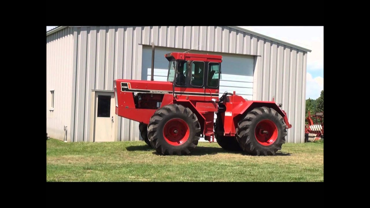 International Harvester 4386 Tractor @ http://www.AuctioneersNow.com -  YouTube