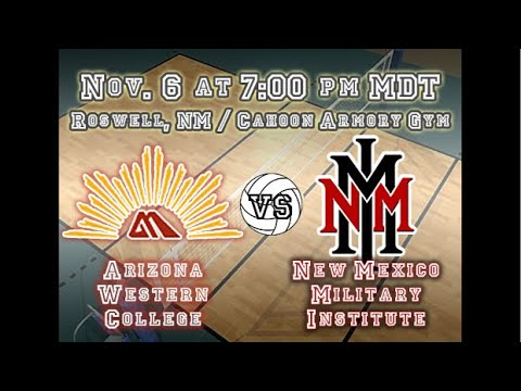Bronco Volleyball vs. Arizona Western College Nov. 6 @ 7 PM MST