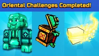 ORIENTAL CHALLENGES COMPLETED! l Pixel Gun 3D