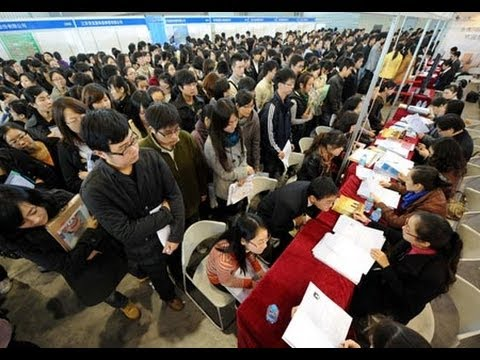 Chinese young job seekers say cash is king