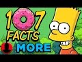 107 MORE Facts About The Simpsons! (ToonedUp #64) @ChannelFred