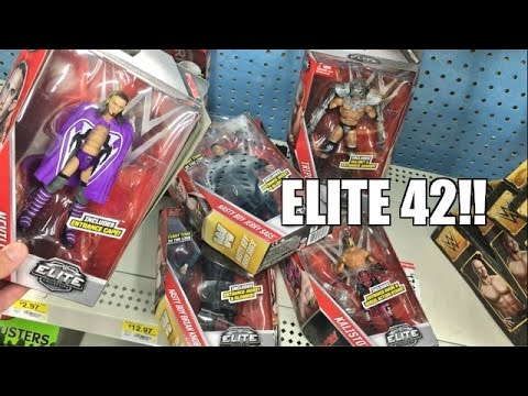 WWE ELITE 42 WRESTLING FIGURES FOUND AT WALMART!