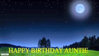 Auntie  Moon La Luna - Happy Birthday
