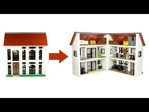 This LEGO House Opens Up