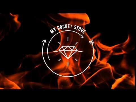 "💥 DIY Wood Pellet Rocket Stove "" Diamond """