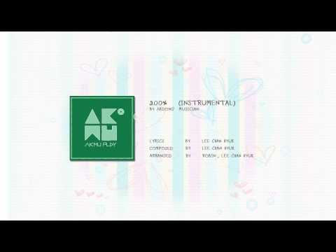 AKDONG MUSICIAN - 200% (INSTRUMENTAL)