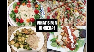 WHATS FOR DINNER? // EASY DINNER IDEAS // MAMA APPROVED