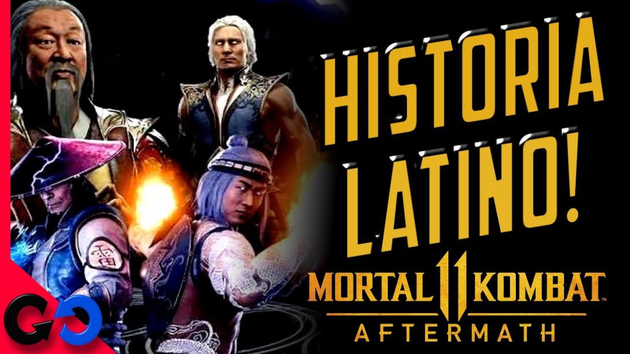 Morta Kombat 11 Aftermath Historia completa Español LATINO! (Final Alterno)
