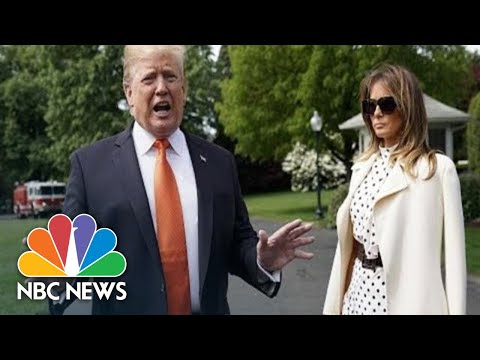 Watch Live: President Donald Trump And First Lady Host Halloween Event At White House | NBC News