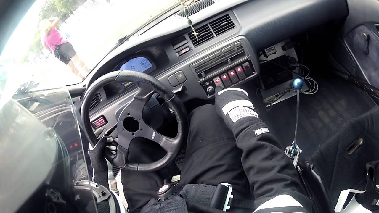 pov driving 1000hp drag honda civic youtube. Black Bedroom Furniture Sets. Home Design Ideas