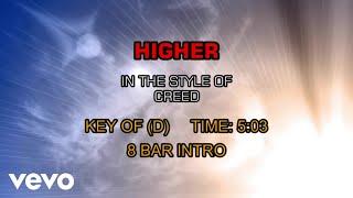 Creed - Higher (Karaoke)