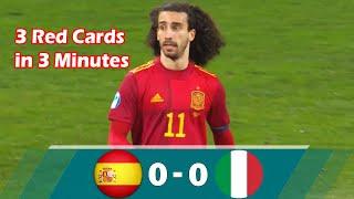 Spain U21 vs Italy U21 0 0 Highlights All Goals Euro U21 2021