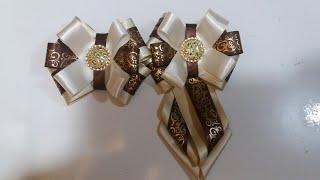 Kit laço e gravata de cetim