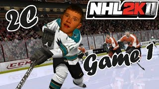 NHL 2K11 Stanley Cup Series: Game 1 - Philadelphia Flyers VS. San Jose Sharks - 2C
