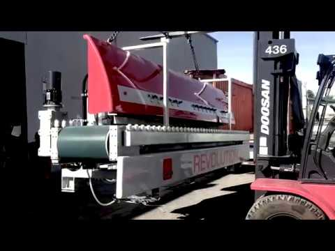 Delivering a second Sasso Revolution line machine in Vancouver
