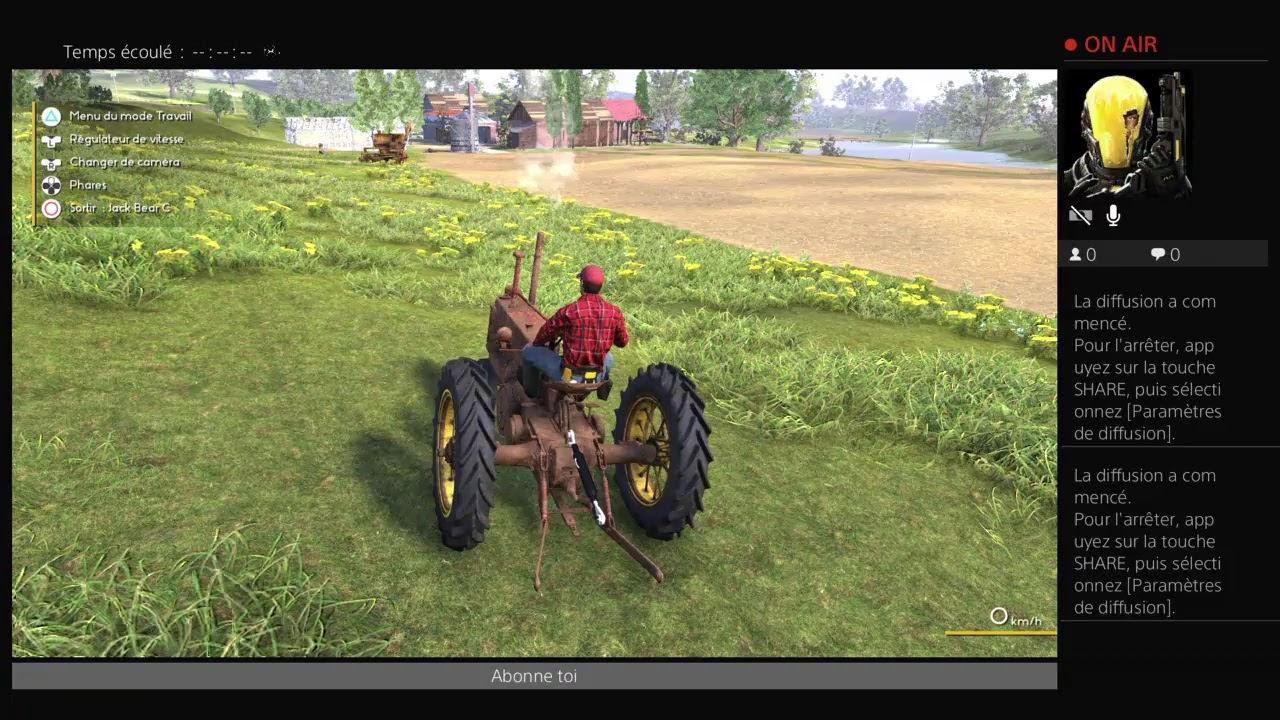 Download live  sur farmer dynastie FR ps4 objectif 10 abonne