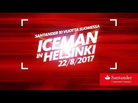 Iceman in Helsinki