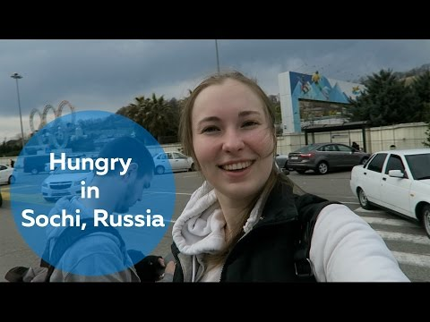 Hungry in Sochi, Sochi, Russia:  | Olya Huntley [Travel] Vlog 07