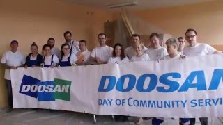 Doosan Day of Community Service April 2016