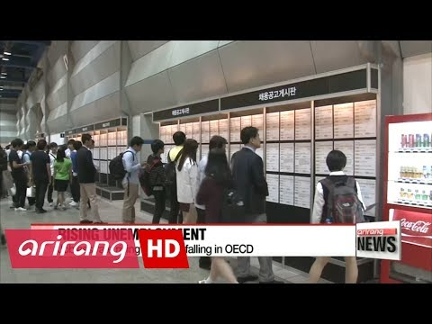 Korea's unemployment figure on rising trend while OECD's figure declines over 3-year period