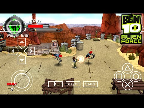 [9 MB] How To Download Ben 10 Alien Force Game On Android   Ben 10 Game