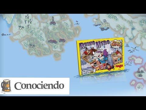Conociendo Rhino Hero Super Battle