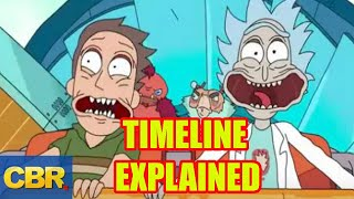 The Rick And Morty Complete Timeline Explained