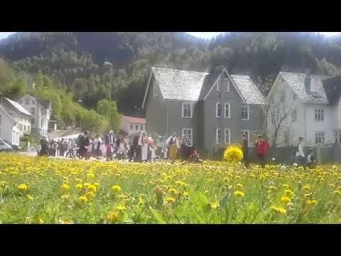 17. mai, grunnlovsdag, Evanger, Norge