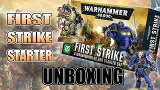 40k's Most Affordable Starter Yet? $40 First Strike