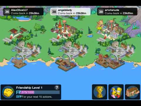 The Simpsons Tapped out 2014 Update