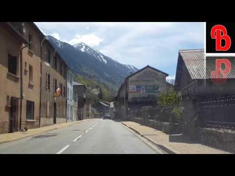 2016 !!!  ANDORRA LA VELLA SIGHT SCENE ON THE WAY TO ANDORRA FROM  FRANCE PART 01