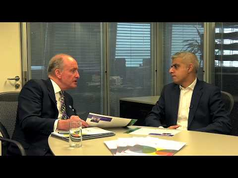 Lord Mayor Business of Trust interview with Mayor of London Sadiq Khan