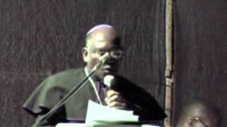 Introduction by Bishop Dlungwane