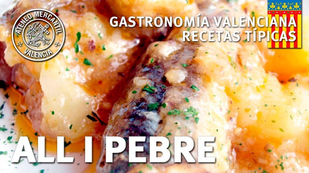 All i Pebre - Paso a paso | Gastronomía Valenciana