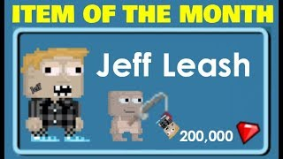 Growtopia- My Name is JEFF - March I.O.T.M REVEALED
